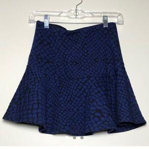 Forever 21 Snakeskin Print Skirt